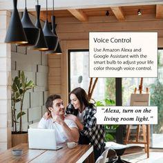 Usando il Wi-Fi, è possibile controllare la lampadina IC-WO5077 senza bisogno di un hub o hardware aggiuntivo. La Smart Bulb si installa facilmente come una lampadina standard e si connette al Wi-Fi domestico in pochissimo tempo tramite l'app gratuita Woox Home. L'app consente anche di gestire le luci tramite lo smartphone o tablet, inclusa la regolazione della luminosità, l'impostazione di programmi e scene e il rilevamento dell'energia utilizzata.