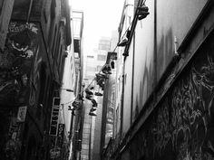 in Melbourne alleyway