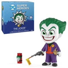 From DC Comics, the Joker, as a new stylized 5 Star figure from Funko! figure stands 3 inches and comes in a window display box. Check out the other DC Comics figures from Funko! collect them all! Madrid Barcelona, Jason Voorhees, Dvd Blu Ray, Fate Stay Night, Power Rangers, Mug Game Of Thrones, Harley Quinn, Joker Pop, The Joker
