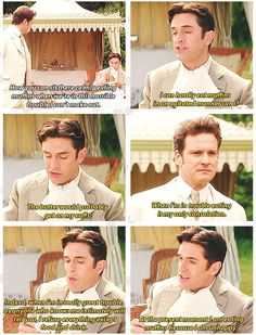 Colin Firth and Rupert Everett perfection in The Importance of Being Earnest. --this is like the story of my life. Jane Austen, Movies Showing, Movies And Tv Shows, Rupert Everett, Moving Pictures, Period Dramas, Just For Laughs, Movie Quotes, Good Movies