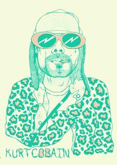 Kurt Cobain  http://tenhomaisdiscosqueamigos.virgula.uol.com.br/2012/08/31/livro-traz-ilustracoes-inspiradas-na-vida-de-kurt-cobain/#
