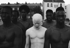 """Photographer Yulia Taits posted her hypnotizing photo series that capture the beauty of Albino people, it inspired us to look further and find more people with Albinism. My Black Is Beautiful, Beautiful People, Beautiful Artwork, Albino Men, Black Men, Black And White, Portraits, Photos Voyages, Photo Series"