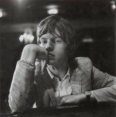 rolling stones | young mick jaggar | posing | bored | waiting | black & white photography | rockstar |