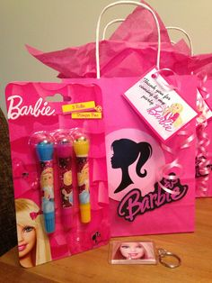 Barbie  party bags  FILLED PARTY BAGS From party bags for kids Find us on Facebook  07799434226 Crofty75@aol.com Http://partybagsforkids.weebly.com