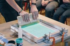 Hack Your Culture with DIY Screen Printing - Bridge Screen Printing Press, Screen Printer, Stencil Printing, New Hobbies, Couture, Printed Shirts, Stencils, Art Prints, Creative