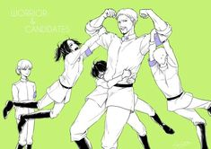 | Attack on titan | Gabi | Udo | Falco | Zofia | Reiner