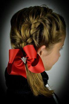 Silver screen Hair bow