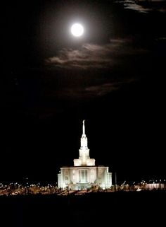 Payson Utah LDS (Mormon) Temple Construction Photographs