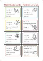 Challenging Math Problems, Brain Teasers and Riddles for kids and adults. Fun and free online math activities. Math Problems For Kids, Practice Math Problems, Algebra Problems, Math Word Problems, Math For Kids, 10th Grade Math Worksheets, Algebra Worksheets, 1st Grade Math, Math Talk