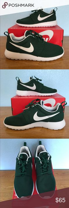 Nike Roshe One Brand new/Never worn. Unique green colorway for a great shoe. If you have any questions leave them below. Nike Shoes Sneakers