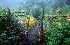 Beautiful two-acre medicinal herb garden