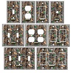 Mossy Oak Camo   Single Standerd Size Lightswitch Cover Mossy Oak Camo   eBay