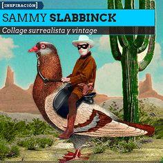 Collage surrealista y vintage de SAMMY SLABBINCK. Desde Bélgica, inspiración en el arte de cortar, pegar, ambientar y comunicar con collage.  Leer más: http://www.colectivobicicleta.com/2013/04/Collage-de-SAMMY-SLABBINCK.html#ixzz2QwIrkEkz