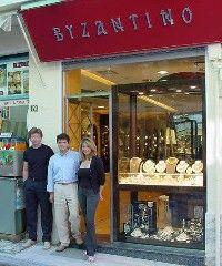Byzantino Jewelry in Plaka (Athens)