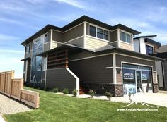 2017 CHBA-Lethbridge Region Parade of Homes - Ready Stack (Color: Almond Buff) Parade Of Homes, Home Builders, Almond, Mountain, Mansions, Stone, House Styles, Color, Home Decor