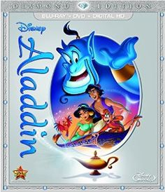 Amazon.com: Aladdin: Diamond Edition (Blu-ray/DVD/Digital HD): Robin Williams, Gilbert Gottfried, Scott Weinger, Linda Larkin, Jonathan Freeman, Douglas Seale, Frank Welker, Bill Perkins, John Musker, Ron Clements, Roger Allers, Ted Elliott, Terry Rossio: Movies & TV