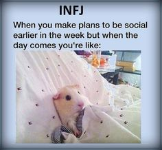 Especially when unexpected social events that drain you happen between making the plans and following through!