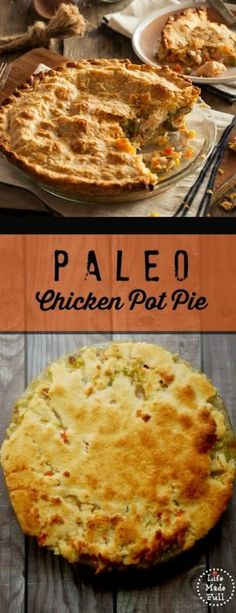 My favorite fall comfort food! This Paleo chicken pot pie recipe is egg-free as well. It is an incredible dish,and tastes even better than my favorite chicken pot pie growing up!