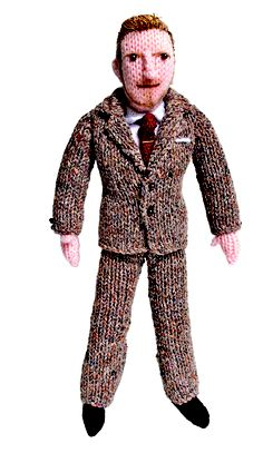 Now you can bend it like Beckham too with this knitted version!