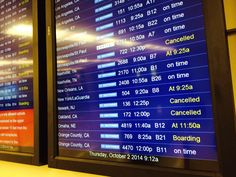 Nearly 500 flights canceled at O'Hare, Midway as storms approach  Approaching storms have prompted airlines to cancel nearly 500 flights at Chicago's airports Thursday, with Southwest Airlines scratching all of its flights in the afternoon.  http://www.chicagotribune.com/news/local/breaking/chi-nearly-500-flights-canceled-at-ohare-midway-as-storms-approach-20141002-story.html