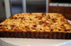 Easy French Apple Tart | The Wanna Be Country Girl