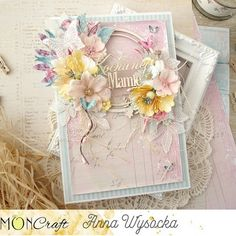 Beautiful Handmade Cards, Flower Cards, Daydream, Cardmaking, Floral Wreath, Decorative Boxes, Spring, Frame, Flowers