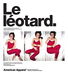 American Apparel Leotard