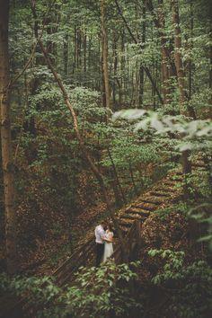 Millersburg Ohio Wedding in the Woods