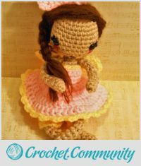 EDITOR'S CHOICE (02/18/2016) Strawberry The Crochet Doll by CharleeAnn View details here: http://crochet.community/creations/4213-strawberry-the-crochet-doll