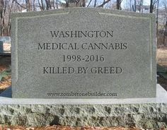 Who's To Blame For The Death Of Medical Marijuana In Washington State?