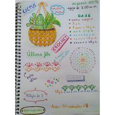 """13 Me gusta, 3 comentarios - gloriarte (@gloriagloriarte) en Instagram: """"He reciclado estos vasos en macetas para cactus con estas fundas tejidas de crochet, no te pierdas…"""""""