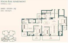 Resultado de imagem para high rise residential floor plan