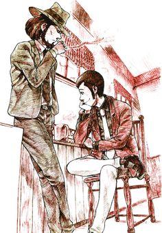 Lupin III, Jigen Daisuke, Looking Away