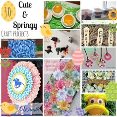 10 Spring Crafts - Nap-time Creations