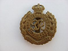 My granddads badge WWII