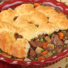Here is a great beef pot pie recipe for that very busy person that has to make the meals and has not got a lot of time for food preparations.. Busy Day Beef Pot Pie Recipe Recipe from Grandmothers Kitchen. Follow us on Pinterest.