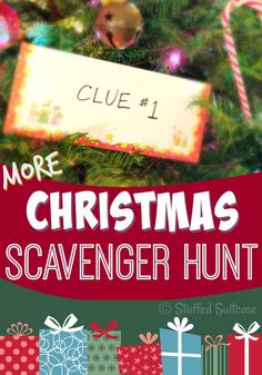 Christmas season is the perfect time to create memories and begin lasting family traditions. Enjoy using these Christmas scavenger hunt clues to hide your kids' gifts and create new lasting family memories and traditions!