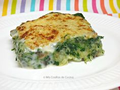 Potato, spinach and mushroom pie - Mis cosillas de Cocina - Potato, spinach and mushroom pie – Mis Cosillas de Cocina Potato, spinach and mushroom pie – Mi - Tortilla Rolls, Mushroom Pie, Spinach Stuffed Mushrooms, Vegetable Recipes, Side Dishes, Food And Drink, Dinner, Vegetables, Eat
