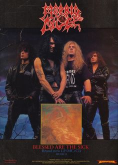 lordofthewasteland666:  Morbid Angel - Blessed Are The Sick