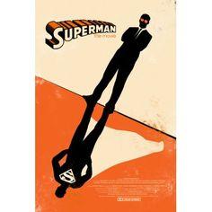 Superman Art Poster