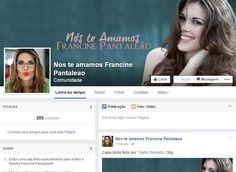 Nós te Amamos Francine Pantaleão