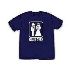Funny T-Shirts - Game Over Mens T-Shirt   $12.99