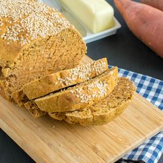 Savory sweet Potato Bread | vegan quick bread with a medley of flavors like rosemary, garlic, parsley and onion powder and tastes heavenly | kiipfit.com