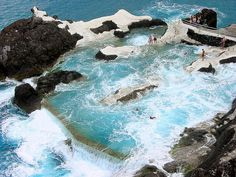 Natural Seawater Pools, Funchal