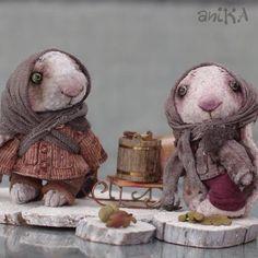 Мишки Тедди ручной работы. Ярмарка Мастеров - ручная работа. Купить Заи-сиротки. ХТ 2013. Handmade. Зайки