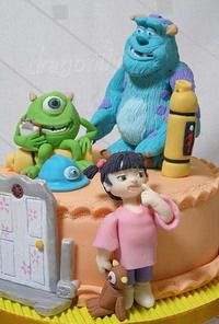 Monsters, Inc characters making tutorials