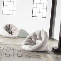 Fresh Futon Nido Chair Natural - NIDO1001
