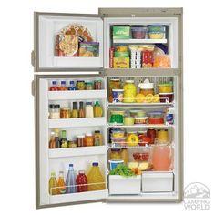 Dometic Classic RM2820 2-Way Refrigerator, Double Door, 8.0 Cu. Ft