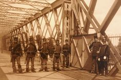 Dutch soldiers at Moerdijk bridge