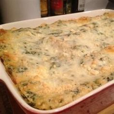 Chicken Lasagna with White Sauce- I used to make one like this that we loved/ hope this is as good : think I'll use some of the suggestions.